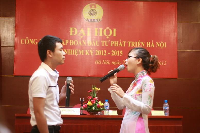 Đại hội Công đoàn Tập đoàn đầu tư phát triển Hà Nội